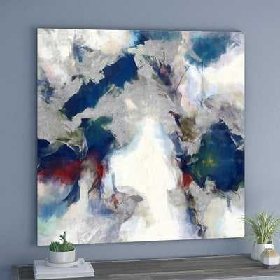Explosive Shade Abstract by Oliver Gal - Wrapped Canvas Graphic Art Print - AllModern