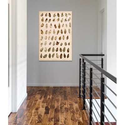Gold Marismas wall Art on Wrapped Canvas - Wayfair