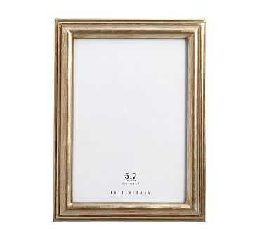 "Eliza Gilt Picture Frame, 5 x 7"" Medium Frame, Champagne Gilt finish - Pottery Barn"