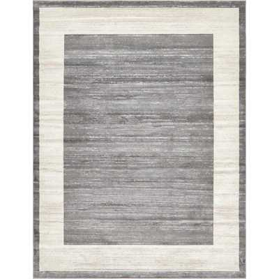 Uptown Collection by Jill Zarin Gray 8' x 10' Rug - Home Depot