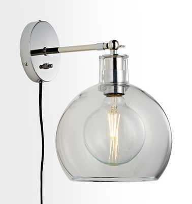 Edendale Straight Articulating Plug-In Sconce - Rejuvenation