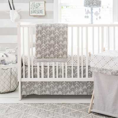 Swayze 3 Piece Crib Bedding Set - AllModern