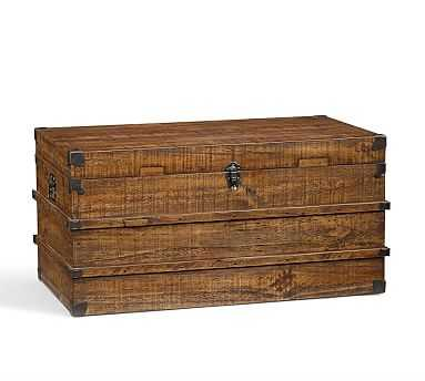 Mendell Reclaimed Wood Trunk - Pottery Barn