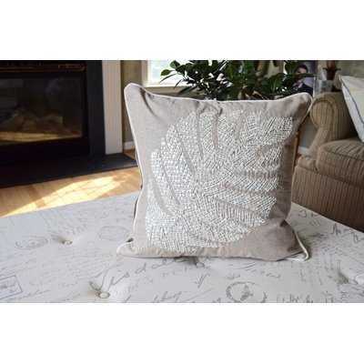 Henry Leaf Throw Pillow - Wayfair