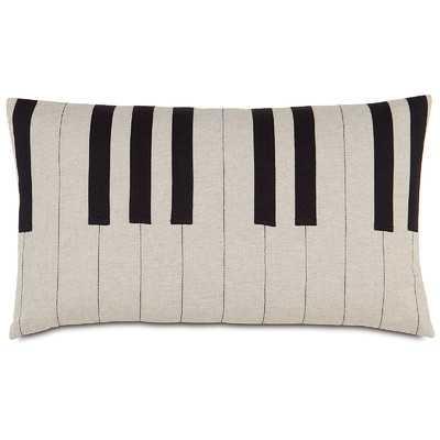Music Tickle the Ivories Lumbar Pillow - Wayfair