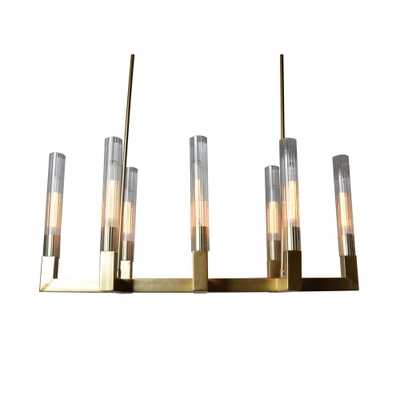 Y Decor 8-Light Gold Chandelier - Home Depot