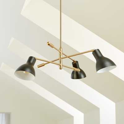 Kace 3 Arm Chandelier - Crate and Barrel