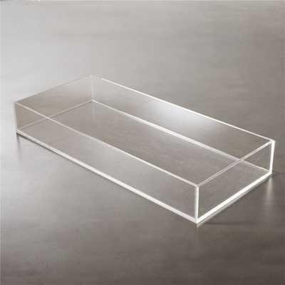 acrylic tank tray - CB2