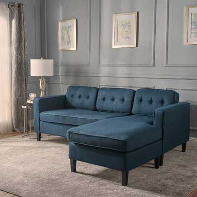 Bay Terrace Sectional - Navy Blue - Wayfair