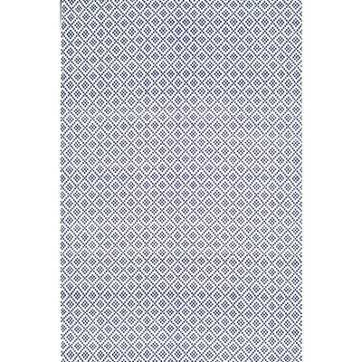 Diamonds Cotton Trellis Navy (Blue) 8 ft. x 10 ft. Area Rug - Home Depot