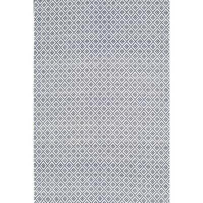 Diamonds Cotton Trellis Navy (Blue) 9 ft. x 12 ft. Area Rug - Home Depot