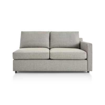Barrett Right Arm Apartment Sofa - Crate and Barrel