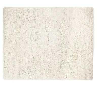 Conrad Shag Rug, 8x10', Ivory - Pottery Barn