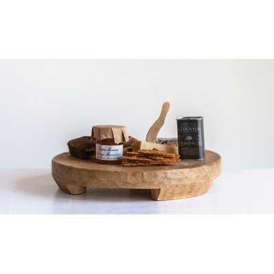 Kingery Mango Wood Ottoman/Coffee Table Tray - Birch Lane