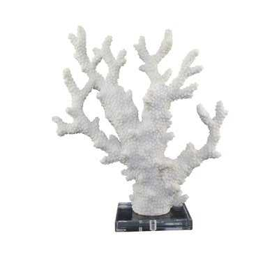Hartland Polyresin Coral Sculpture - Wayfair