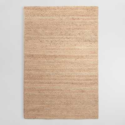 Natural Chunky Braided Jute Flynn Area Rug - 9Ftx12Ft by World Market 9Ftx12Ft - World Market/Cost Plus