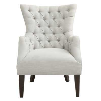 """Button Tufted 21.25"""" Wingback Chair - Birch Lane"""
