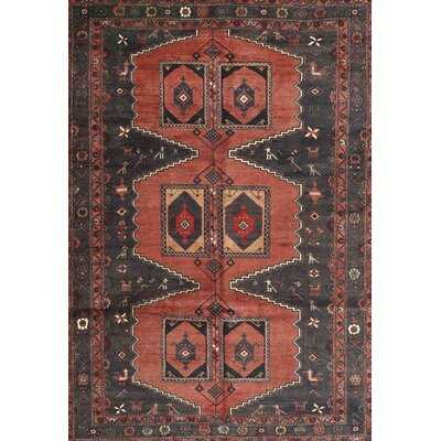 Bonparker Traditional Blue/Red Area Rug - Wayfair