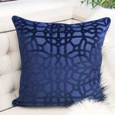Margarita Velvet Throw Pillow - Wayfair
