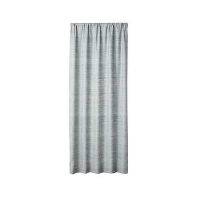 "Silvana Silk Abyss Curtain Panel 48""x108"" - Crate and Barrel"