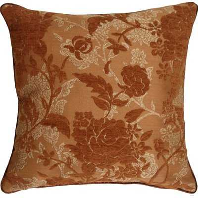 Vickery Traditional Floral Throw Pillow - Wayfair