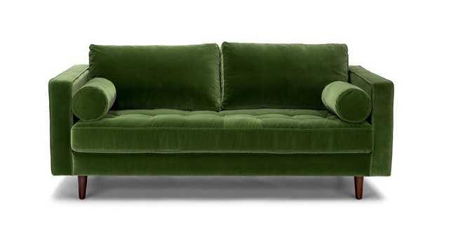 "Sven Grass Green 72"" Sofa - Article"