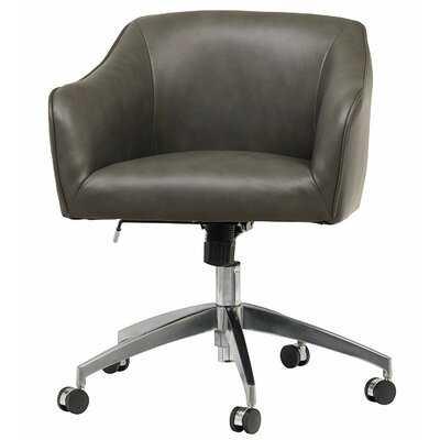 Genuine Leather Task Chair - Wayfair