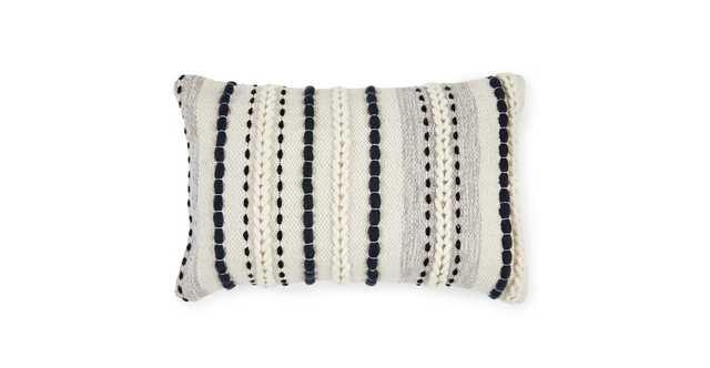 Stitch Black Pillow - Article