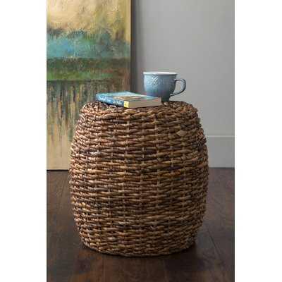 Calabash Woven Stool - Wayfair