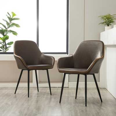 Lansdale Upholstered Dining Chair( set of 2) - Wayfair