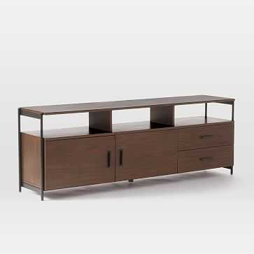 "Foundry Media Console, 69"", Dark Walnut - West Elm"