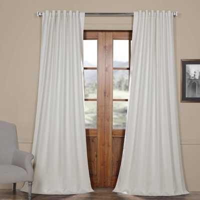 Cairo Blackout Curtain Rod Pocket Panel PAIR - Birch Lane