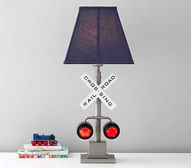 Railroad Crossing Lamp - Pottery Barn Kids