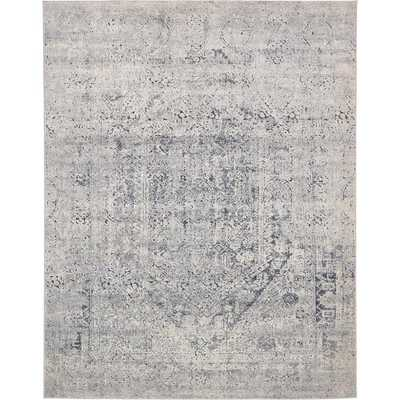 Chateau Quincy Gray 8' x 10' Area Rug - Home Depot