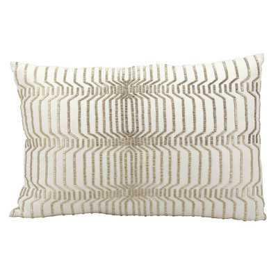 Mineo Beading Lumbar Pillow - Wayfair