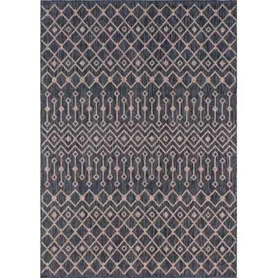 Leyla Brown/Beige Indoor/Outdoor Area Rug - Wayfair