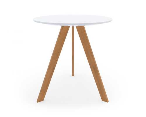 Dolf Side Table - White Ash Wood - Rove Concepts