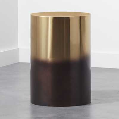 Winston Round Ombre Side Table - CB2
