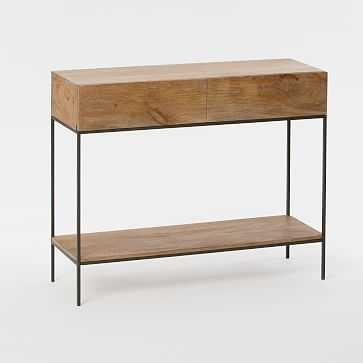 Industrial Storage Console, Raw Mango - West Elm