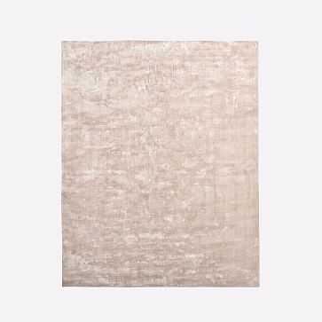 Lucent Rug, Dusty Blush, 8'x10' - West Elm