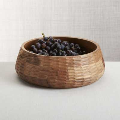 Amari Acacia Wood Bowl - Crate and Barrel