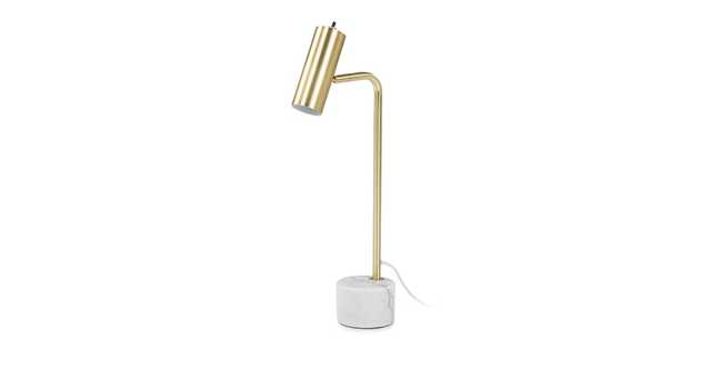 Crane Brass Table Lamp - Article