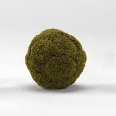 Millwood Pines Crackled Moss Ball Plant (Set of 3) - Wayfair