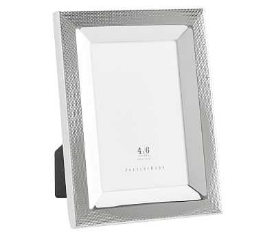 """Silver Weave Picture Frame, 4"""" x 6"""" - Pottery Barn"""