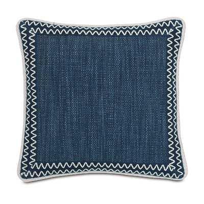 Indira Gilmer Indigo Throw Pillow - Wayfair
