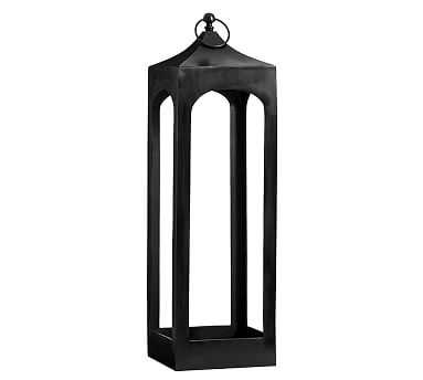 Caleb Lantern, Black - Extra Large - Pottery Barn