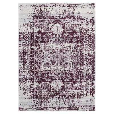 Dietz Lileth Purple Area Rug - Wayfair