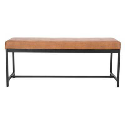Aniyah Faux Leather Upholstered Bench - AllModern