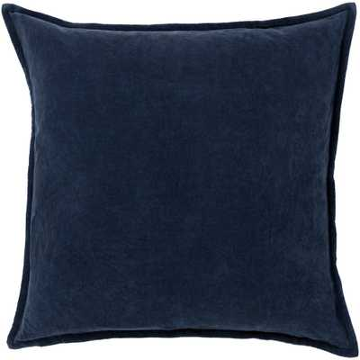 Velizh Poly Euro Pillow, Dark Slate - Home Depot