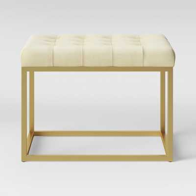 Malvern Rectangular Ottoman Cream (Ivory) - Project 62 - Target